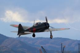 kunimi5007さんが、仙台空港で撮影したゼロエンタープライズ Zero 22/A6M3の航空フォト(飛行機 写真・画像)