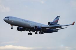 かずかずさんが、成田国際空港で撮影したアエロフロート・カーゴ MD-11Fの航空フォト(飛行機 写真・画像)