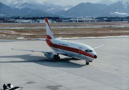 こまっちゃんさんが、山形空港で撮影した日本トランスオーシャン航空 737-2Q3/Advの航空フォト(飛行機 写真・画像)