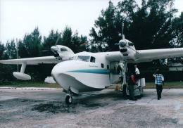 こまっちゃんさんが、サウス・ビミニ空港で撮影したOP chalk international G-73T Turbo Mallardの航空フォト(飛行機 写真・画像)
