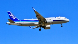 Airway-japanさんが、函館空港で撮影した全日空 A320-271Nの航空フォト(飛行機 写真・画像)