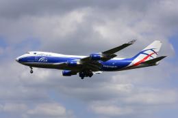 地主さんが、成田国際空港で撮影したカーゴロジックエア 747-428F/ER/SCDの航空フォト(飛行機 写真・画像)