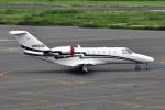 Gambardierさんが、岡南飛行場で撮影した安藤商会 525A Citation CJ2の航空フォト(飛行機 写真・画像)