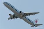 RUNWAY23.TADAさんが、関西国際空港で撮影した中国国際航空 A321-213の航空フォト(飛行機 写真・画像)