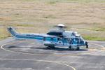 RUNWAY23.TADAさんが、関西国際空港で撮影した海上保安庁 EC225LP Super Puma Mk2+の航空フォト(飛行機 写真・画像)