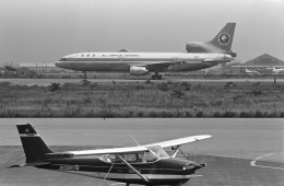 チャーリーマイクさんが、小松空港で撮影した全日空 L-1011-385-1 TriStar 1の航空フォト(飛行機 写真・画像)