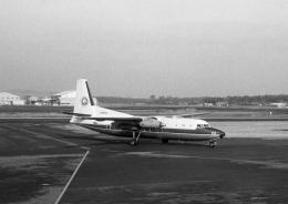 チャーリーマイクさんが、健軍駐屯地で撮影した全日空 F27-224 Friendshipの航空フォト(飛行機 写真・画像)