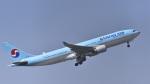 パンダさんが、成田国際空港で撮影した大韓航空 A330-223の航空フォト(飛行機 写真・画像)