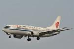 kumagorouさんが、仙台空港で撮影した中国国際航空 737-36Nの航空フォト(飛行機 写真・画像)