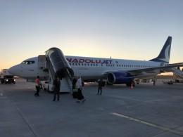 こじゆきさんが、デニズリ・カルダク空港で撮影したアナドルジェット 737-8F2の航空フォト(飛行機 写真・画像)