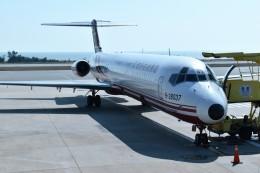 こじゆきさんが、金門空港で撮影した遠東航空 MD-82 (DC-9-82)の航空フォト(飛行機 写真・画像)
