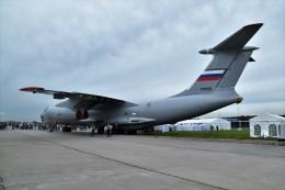 こじゆきさんが、ジュコーフスキー空港で撮影したロシア空軍 Il-76Mの航空フォト(飛行機 写真・画像)