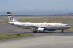 yabyanさんが、中部国際空港で撮影したエティハド航空 A330-243の航空フォト(飛行機 写真・画像)