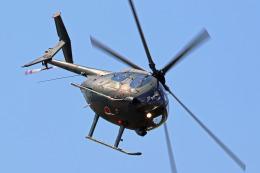 szkkjさんが、木更津飛行場で撮影した陸上自衛隊 OH-6Dの航空フォト(飛行機 写真・画像)