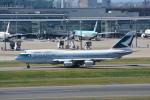LEGACY-747さんが、羽田空港で撮影したキャセイパシフィック航空 747-467の航空フォト(飛行機 写真・画像)