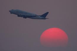 planetさんが、中部国際空港で撮影したボーイング 747-409(LCF) Dreamlifterの航空フォト(飛行機 写真・画像)