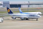 LEGACY-747さんが、羽田空港で撮影したルフトハンザドイツ航空 747-430の航空フォト(飛行機 写真・画像)
