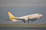 LEGACY-747さんが、羽田空港で撮影したAIR DO 737-54Kの航空フォト(飛行機 写真・画像)