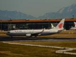 kiyohsさんが、北京首都国際空港で撮影した中国国際航空 737-89Lの航空フォト(飛行機 写真・画像)