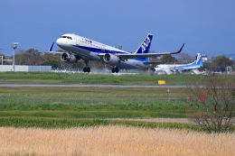 門ミフさんが、佐賀空港で撮影した全日空 A320-214の航空フォト(飛行機 写真・画像)