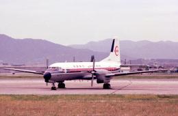 チャーリーマイクさんが、福岡空港で撮影した南西航空 YS-11A-209の航空フォト(飛行機 写真・画像)