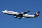 kuraykiさんが、羽田空港で撮影したルフトハンザドイツ航空 747-830の航空フォト(飛行機 写真・画像)