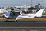 PASSENGERさんが、八尾空港で撮影した第一航空 172P Skyhawkの航空フォト(飛行機 写真・画像)