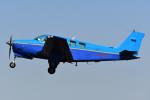 PASSENGERさんが、八尾空港で撮影した日本法人所有 A36 Bonanza 36の航空フォト(飛行機 写真・画像)