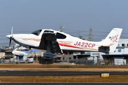 PASSENGERさんが、八尾空港で撮影した日本個人所有 SR22 G2の航空フォト(飛行機 写真・画像)