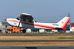 PASSENGERさんが、八尾空港で撮影した朝日航空 172S Skyhawk SP IIの航空フォト(飛行機 写真・画像)