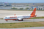 LEGACY-747さんが、関西国際空港で撮影したチェジュ航空 737-82Rの航空フォト(飛行機 写真・画像)