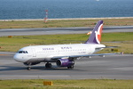 LEGACY-747さんが、関西国際空港で撮影したマカオ航空 A319-132の航空フォト(飛行機 写真・画像)