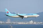 LEGACY-747さんが、関西国際空港で撮影した大韓航空 737-8Q8の航空フォト(飛行機 写真・画像)
