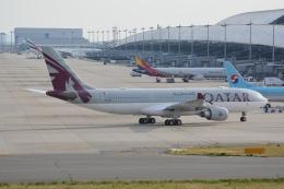 LEGACY-747さんが、関西国際空港で撮影したカタール航空 A330-202の航空フォト(飛行機 写真・画像)