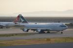 LEGACY-747さんが、関西国際空港で撮影したキャセイパシフィック航空 747-412の航空フォト(飛行機 写真・画像)