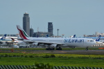 LEGACY-747さんが、成田国際空港で撮影したスリランカ航空 A340-313Xの航空フォト(飛行機 写真・画像)