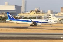 Gripen-YNさんが、伊丹空港で撮影した全日空 A321-272Nの航空フォト(飛行機 写真・画像)