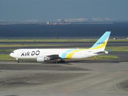 鷹71さんが、羽田空港で撮影したAIR DO 767-33A/ERの航空フォト(飛行機 写真・画像)