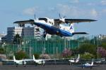 sukiさんが、調布飛行場で撮影した新中央航空 228-212の航空フォト(飛行機 写真・画像)