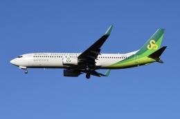 Timothyさんが、成田国際空港で撮影した春秋航空日本 737-8ALの航空フォト(飛行機 写真・画像)
