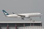 kuro2059さんが、香港国際空港で撮影したキャセイパシフィック航空 A350-941の航空フォト(飛行機 写真・画像)