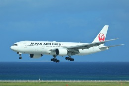 レガシィさんが、那覇空港で撮影した日本航空 777-289の航空フォト(飛行機 写真・画像)