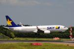 LEGACY-747さんが、成田国際空港で撮影したスカイマーク 737-81Dの航空フォト(飛行機 写真・画像)