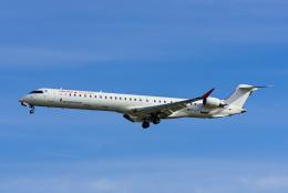 Frankspotterさんが、マドリード・バラハス国際空港で撮影したエア・ノーストラム CL-600-2E25 Regional Jet CRJ-1000の航空フォト(飛行機 写真・画像)