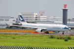 LEGACY-747さんが、成田国際空港で撮影したキャセイパシフィック航空 A330-342Xの航空フォト(飛行機 写真・画像)