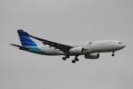 LEGACY-747さんが、成田国際空港で撮影したガルーダ・インドネシア航空 A330-243の航空フォト(飛行機 写真・画像)