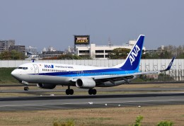 T.Sazenさんが、伊丹空港で撮影した全日空 737-8ALの航空フォト(飛行機 写真・画像)