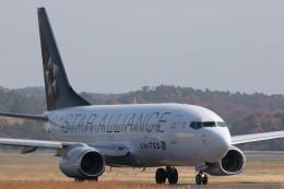Kaaazさんが、岡山空港で撮影したユナイテッド航空 737-724の航空フォト(飛行機 写真・画像)
