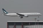 kuro2059さんが、香港国際空港で撮影したキャセイパシフィック航空 777-367の航空フォト(飛行機 写真・画像)
