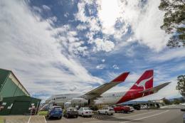 mameshibaさんが、イラワラ・リージョナル空港で撮影したカンタス航空 747-438の航空フォト(飛行機 写真・画像)